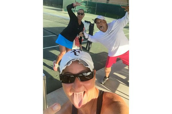 Pros at the Jupiter Bay Tennis Club
